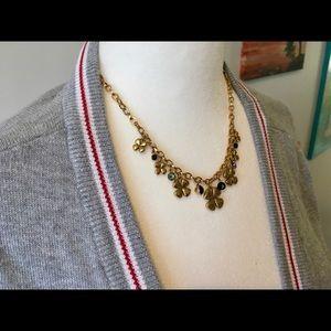 Pilgrim Danish design, gold plated necklace.